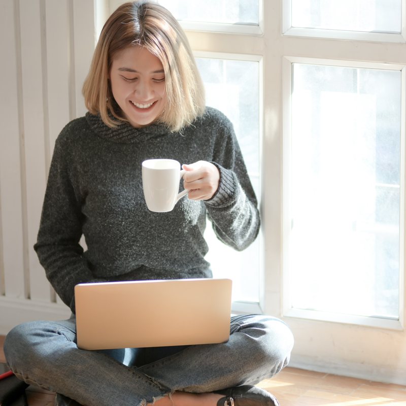 Work Remotely From The Comfort At Home